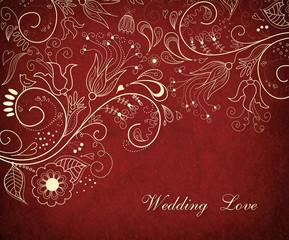 Wedding  Love. Invitstion