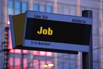 Anzeigetafel 1 - Job