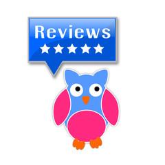 Gufo con icona recensione