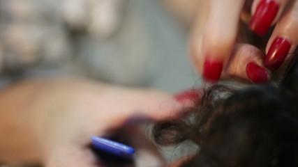 Hairpin hair