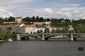 The View on Prague's Office of Government