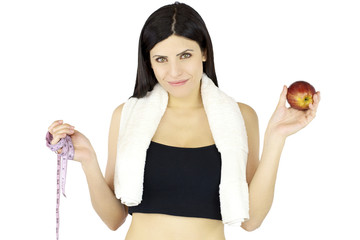 Summer diet and healthy food