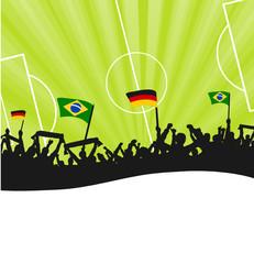 Fans Deutschland Brasilien