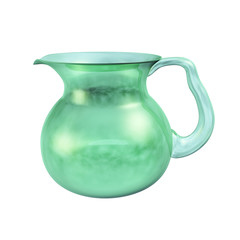 Pitcher with Clouds