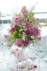 Rosenstrauß, Blumengesteck