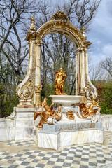 La Granja. Source Statue of Saturn