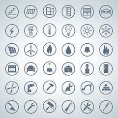 home icon set 001