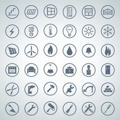 home icon set 001
