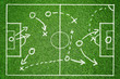 Leinwandbild Motiv Spielplan
