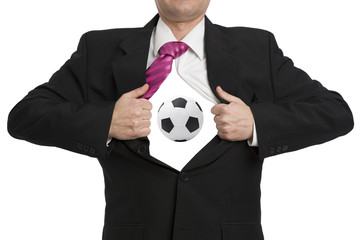 Fussball im Hemd - Volltreffer