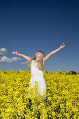 Girl on a Rape Field
