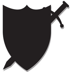 Sword and Shield Silhouette