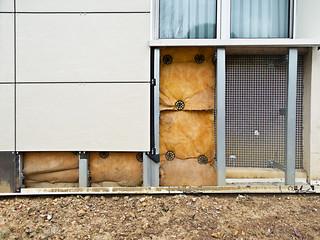 External insulation of a building