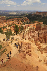 inspiration point, Bryce canyon