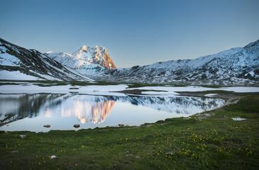 Lago Pietranzoni e Corno Grande, Gran Sasso d'Italia