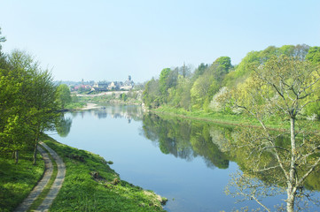 river tweed at Coldstream