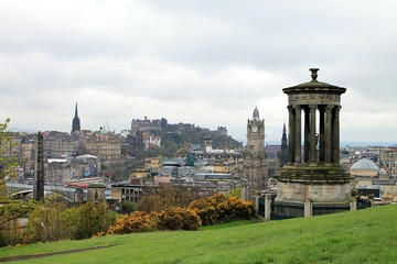 Edinburgh Calton Hill, Scotland, UK