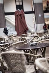 Cafe on a street