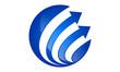 global-arrow-abstract-logo