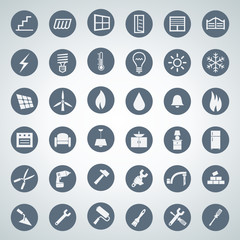 home icon set 002