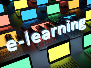 e-learning background