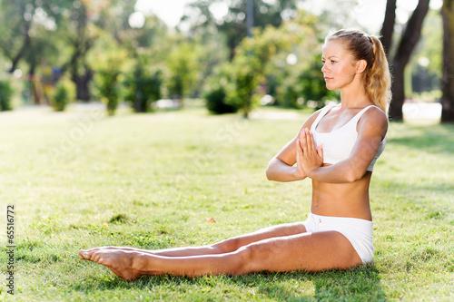 Yoga practice - 65516772