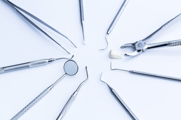Zahnarzt grundbesteck medizin
