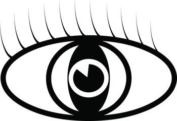 Vector eye symbol
