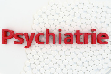 Psychiatrie - 3d Render