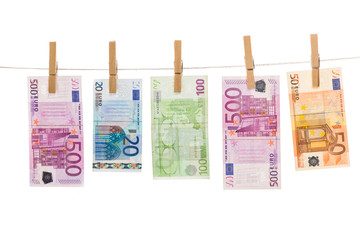 Euro money laundering