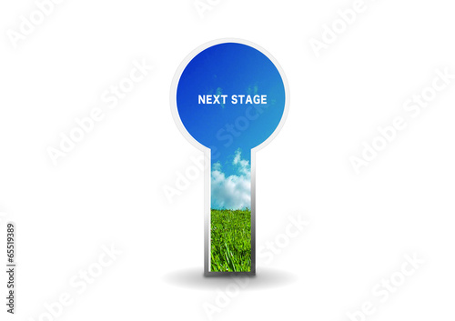 Door to new world 新世界 成功 扉
