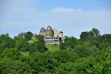 Die Sababurg im Reinhardswald in Nordhessen