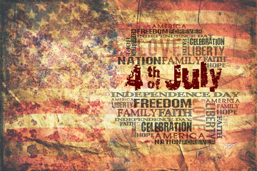 4th of July Happy Independence Day Background