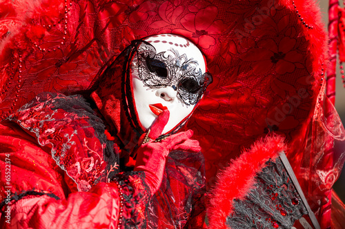 Keuken foto achterwand Carnaval maschera del carnevale di Venezia 2014