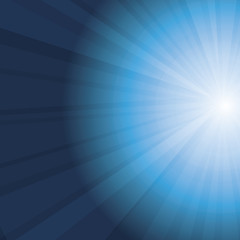 Sun Rays - Abstract Vector Background