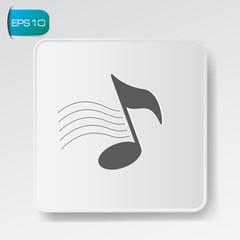 Song symbol,vector