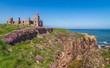 Slains Castle Cruden Bay Scotland UK
