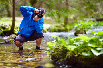 Photographer outdoor
