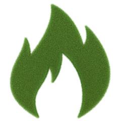 grüner Brennstoff