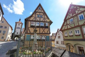 Plönlein, Rothenburg ob der Tauber