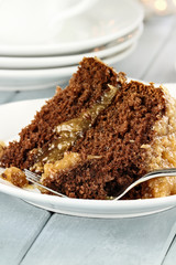 Slice of German Chocolate Cake