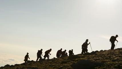 dağcılık ekibi