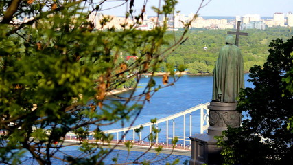 monument to St. Vladimir in Kyiv, Ukraine