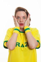 Shock Soccer Fan
