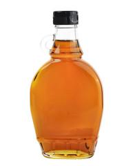 Maple Syrup Isolated On White Background.
