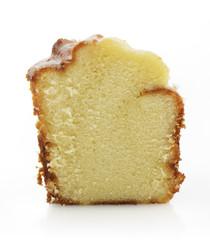 Sour Cream Cake Slice