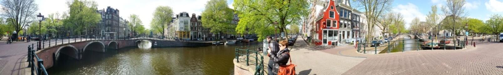 Promenade dans Amsterdam