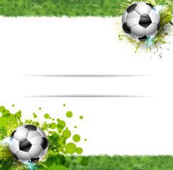 Banner Calcio, Prato erboso