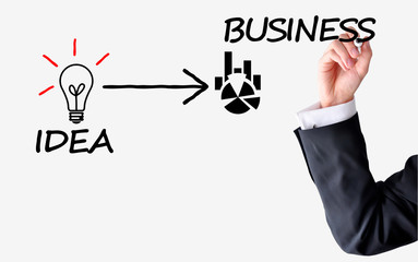 Transform idea into business concept