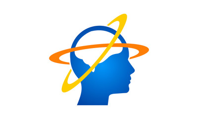 head idea creative brain logo